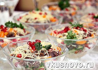 легкие мясные салаты рецепты с фото