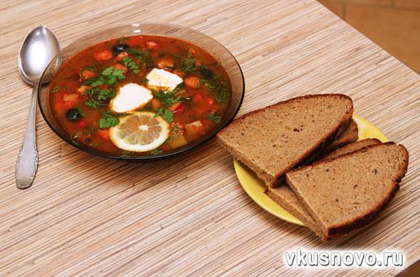 солянка обыкновенная рецепт приготовления