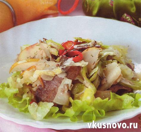 рецепты салатов для романтического ужина дома