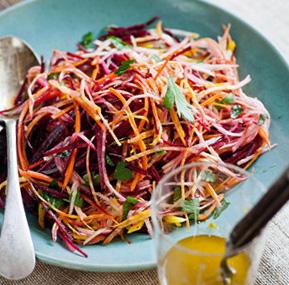 полезный салат из овощей