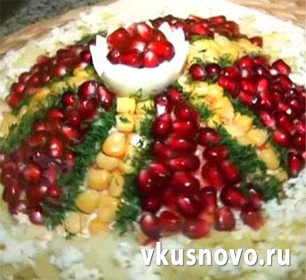 Рецепт салата шапка Мономаха с фото