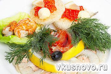 Пошаговые рецепты с фото приготовления салатов и закусок.